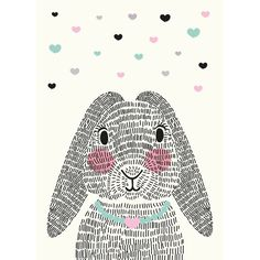 Aless baylis happy bunny postkarte karten bilder for Raumgestaltung zich