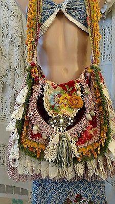 Read the article about Handmade Shoulder Carpet Bag Fringe Vintage Lace Hippie Gy .Details about Handmade Shoulder Carpet Bag Fringe Vintage Lace Hippie Gypsy Boho Purse tmyers - Boho Details Fringes Purse Gypsy Wrap Carpet Bag, Gypsy Bag, Hippie Gypsy, Hippie Purse, Handmade Handbags, Handmade Bags, Vetement Hippie Chic, Estilo Hippie, Boho Bags