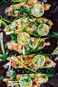 Baked sole fillet recipe from The Mediterranean Dish