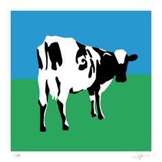 Pink Floyd: Atom Heart Mother - Limited edition print signed by Eduardo Luzzatti Atom Heart Mother, Hip Hop, Arte Pink Floyd, Jazz, Folk, Mother Tattoos, Limited Edition Prints, Mother Art, Great Albums