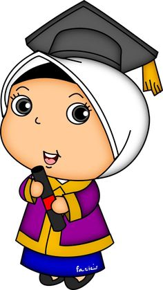 Page Borders Design, Border Design, Graduation Cartoon, Moslem, N Girls, Boys, Stone Painting, Spongebob, Cartoon Art