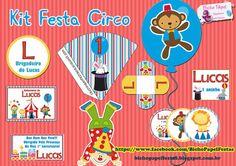 Kit Festa Tema Circo Para Imprimir Grátis
