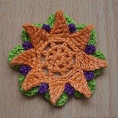Stella Bloom Crochet Flower pattern
