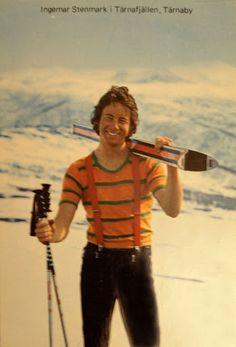 Ingemar Stenmark Nordic Skiing, Alpine Skiing, Snow Skiing, Elan Ski, Mikaela Shiffrin, Ski Racing, Ski Posters, Great Smiles, Vintage Ski