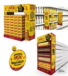 AMBEV - P.O.P. materials for SKOL Lollapalooza são paulo