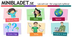 Lärarhandledning Reporterskolan Skriva Del 1 | MiniBladet Sydsvenskan