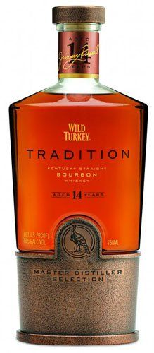 Wild Turkey 14 yr Bourbon Tradition Kentucky Straight Bourbon Whiskey
