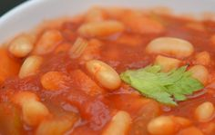fasolada of Griekse witte bonen soep