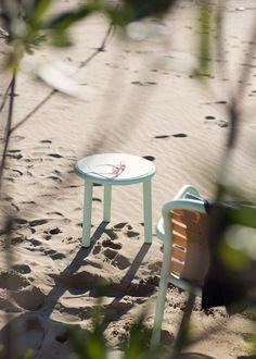 YARD for emu by Stefan Diez low seats and side tables image by Robert Fischer www.emu.it www.stefan-diez.com