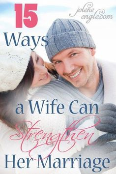 Top 15 Ways a Wife Can Strengthen Her Marriage by Jolene Engle. This is what I hope and dream to be towards my husband :) Godly Wife, Godly Marriage, Marriage And Family, Marriage Relationship, All Family, Marriage Advice, Marriage Help, Godly Woman, Strong Marriage