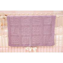 Reversible Block-Motif Blanket in Tahki Yarns Cotton Classic