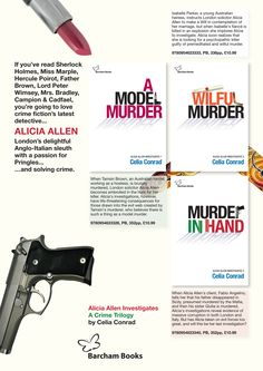 Details of my crime novels