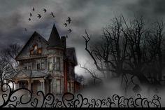 Haunted House - Happy Halloween by MorgannaTorok