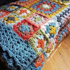 Crochet artist sharing to encourage and inspire Factors And Multiples, King Size Blanket, Patchwork Heart, Granny Square Blanket, 9 Square, Good Tutorials, Crochet Borders, A Hook, Make A Donation