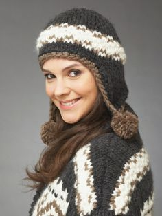 Cold Snap | Yarn | Free Knitting Patterns | Crochet Patterns | Yarnspirations