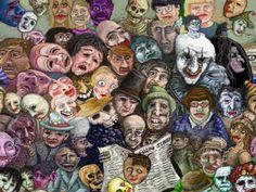 James Ensor - maski i smierć Magritte, James Ensor, Puppet Costume, Appropriation Art, Surreal Artwork, Create Drawing, Art Plastique, Ancient Art, Modern Art