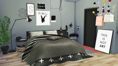 2t4 Curio Bedroom ( Fixed Version ) at Maximss via Sims 4 Updates