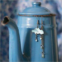Cloud earrings!