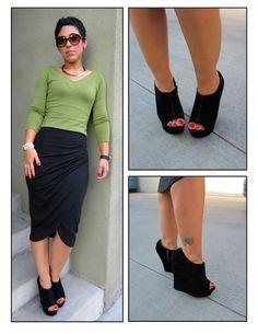 DIY Skirt: Pattern Review V8711 View D