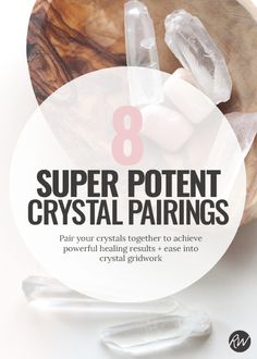 When crystals come together, their energies change and heighten, creating some serious amplification and power. Here are 8 amazing combos to try at home | Rogue Wood Supply