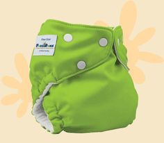 FuzziBunz Cloth Diapers-so cute and easy to put on!