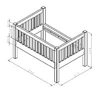 how to build a co sleeper | ... ordered the cherry wood to build a co sleeper crib with a little futon
