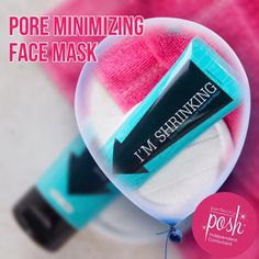 Our unique and natural blend of fruits and essential oils cleans and reduces the appearance of large pores, soothes irritated skin, and leaves you with a beautifully smooth complexion. Gently apply to specific areas with larger pores (not recommended for entire face). Leave on for 1–3 minutes, then rinse..https://www.perfectlyposh.com/AngelaHowell/im-shrinking