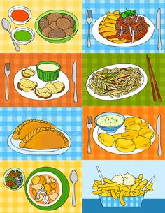 The Travelling Potato, illustrated potato recipes from all over the world! illustrations by Andreea Mironiuc
