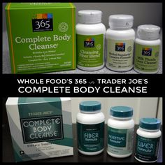 Whole Food's 365 vs Trader Joe's Complete Body Cleanse - Shelly in Real Life