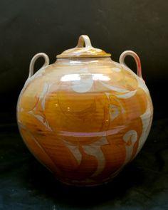 Alan Caiger-Smith (Argentine-British: 1930) - Large Lidded Ceramic Vessel