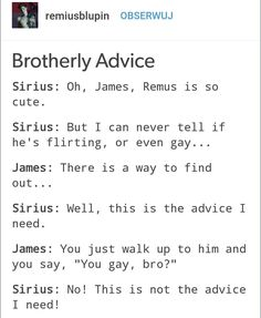 James is as blunt as a 6 year old