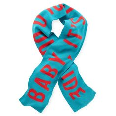 baby it's cold outside scarf -Kate Spade  {love this scarf! love kate!}