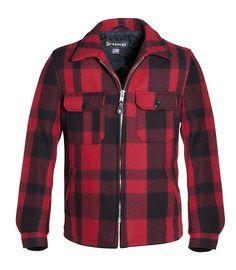 Schott Quilt Lined Wool Work Shirt