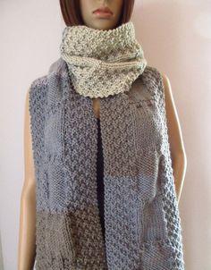 Unisex, Crochet, Fashion, Scarves, Wool, Knitting And Crocheting, Threading, Pattern, Moda