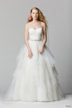 wtoo brides spring 2014 strapless wedding dress style 12011 cecilia