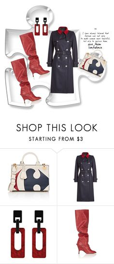 """""""""""Love is like a puzzle beautiful when the right pieces fit"""""""" by polymeme ❤ liked on Polyvore featuring Anya Hindmarch, The Kooples and Alchimia Di Ballin"""