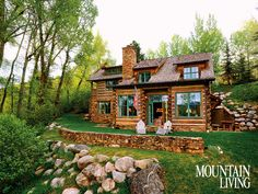 A House in the Woods | Mountain Living