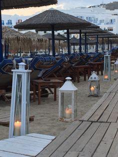 Mykonos Palace Beach Hotel Boardwalk