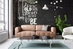 Ideas Brick Wall Decor – For all you people out there who are lucky enough to have exposed brick walls in your residence, we are no investigate jealous. A brick wall adds vibes and warmth to any room. Brick Wall Decor, Modern Wall Decor, Room Wall Decor, Living Room Decor, Living Rooms, Brick Interior, Interior Walls, Interior Design, Modern Interior