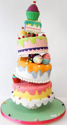 Gateau wedding cake 974