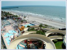 I think I really want to go here! Myrtle Beach! Looks fun! Oceanfront waterpark Family Kingdom sure is fun!