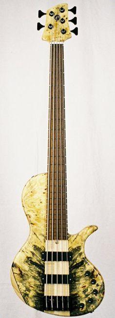 Elrick Bass Guitars - Platinum classic singlecut 5 string hybrid