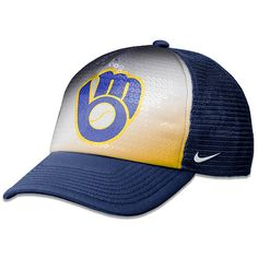 Milwaukee Brewers Women's Fashion Adjustable Trucker Cap by Nike - MLB.com Shop