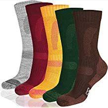 3ca97a2bebe Merino Wool Hiking   Trekking Socks by DANISH ENDURANCE for Men and Women