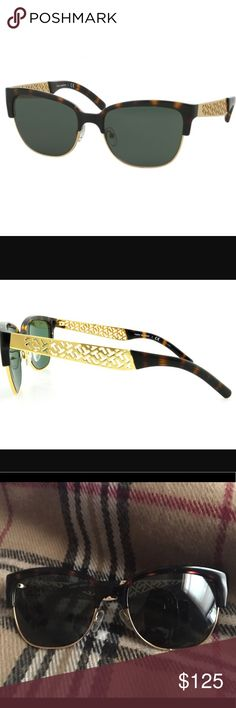 Tory Burch Sunglasses, TY6032 Tory Burch Sunglasses, TY6032.           Imagine stylish textures and unique elements. Envision hand crafted originality and premium product. It's a picture of Tory Burch. Push the style envelope to reach new heights of sunglass precision, stability and consistency. It's as if they were made with you in mind. Frame Style: Rectangle Eye/Bridge/Temple: 56/18/140 Tory Burch Accessories Sunglasses
