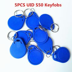 1pcs 215 Chip 13.56mhz Universal Keyfobs Nfc Tag Key Fobs Game Sence Tag Mo Superior Performance Security & Protection Access Control Cards