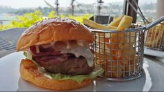 Steak burger @ Cafe Bord de Mer