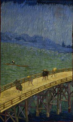 Vicent Van Gogh - Puente en la Lluvia