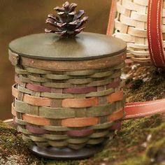 American Craft Traditions Woodland Basket