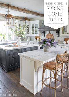 Our French Cottage Issue Has Arrived! - Cottage Journal - Our French Cottage Issue Has Arrived! – The Cottage Journal - Kitchen Pantry, New Kitchen, Kitchen Dining, Kitchen Decor, Glass Kitchen, Dining Rooms, Kitchen Cabinets, Layout Design, Küchen Design